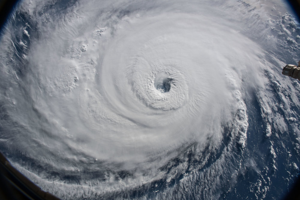 New and complex challenges are on the horizon as we work to adapt to climate change and modernize our infrastructure. Image of Hurricane Florence: NASA, 09/12/2018.