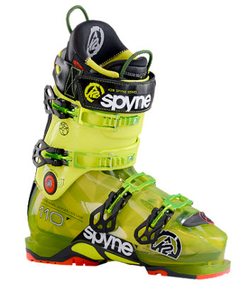 K2 Spyne 110 mens ski boot