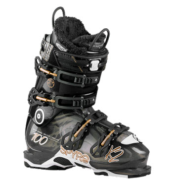 K2 Spyre 100  Womens ski boot