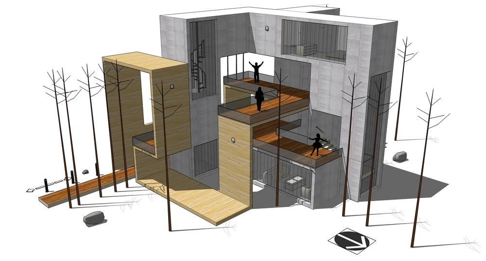Diego del Castillo - Casa Lazo V - Ribbon House V (10).jpg