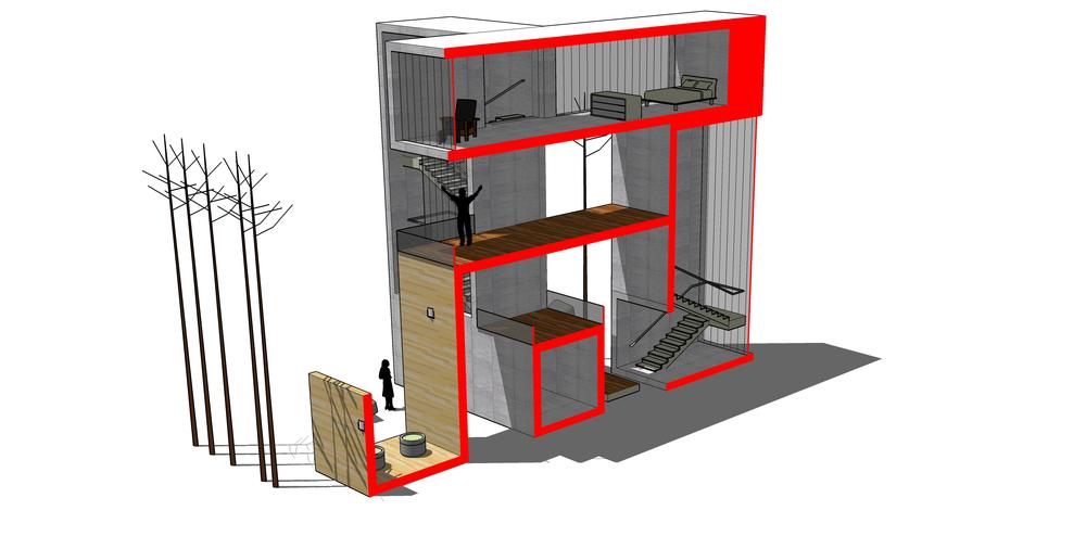 Diego del Castillo - Casa Lazo V - Ribbon House V (15).jpg