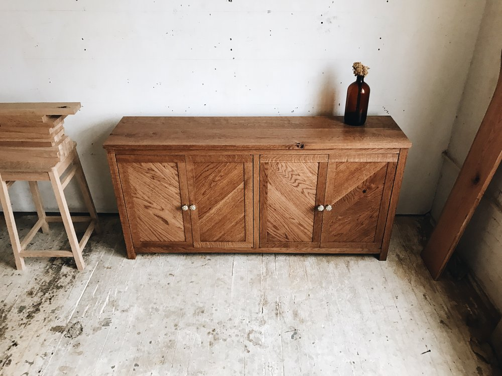 """""""I design and build furniture primarily from hardwoods, but also incorporate metal, leather and other materials. My approach to design is simple and utilitarian while also displaying the natural beauty of the materials."""" website: www.arborshop.us"""