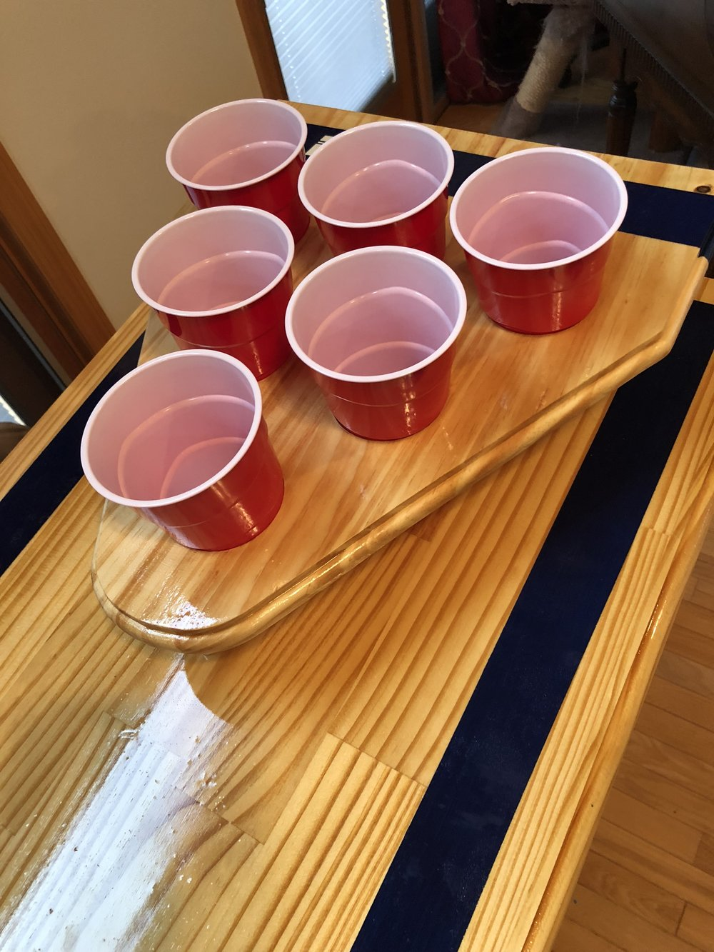 Add Beer Pong To Any Bar or Table!  Click and Watch the Video!