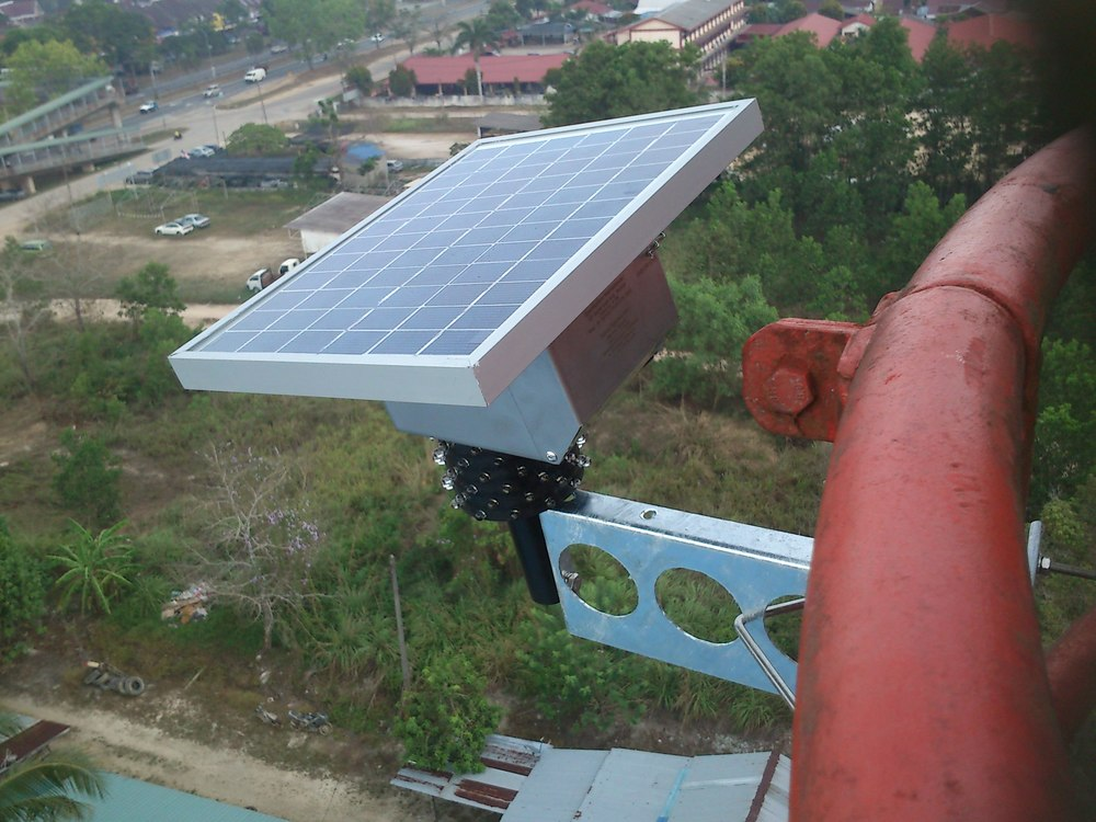 LS-3272-12 Celcom Project, on a Monopole, Malaysia