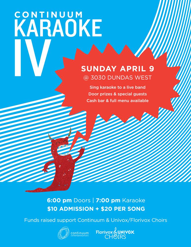 Continuum Live Band Karaoke IV - Fundraiser - 6pm Doors. 7pm Karaoke.