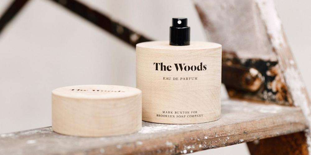 """The Wood Perfume"" by Brooklyn Soap Company"