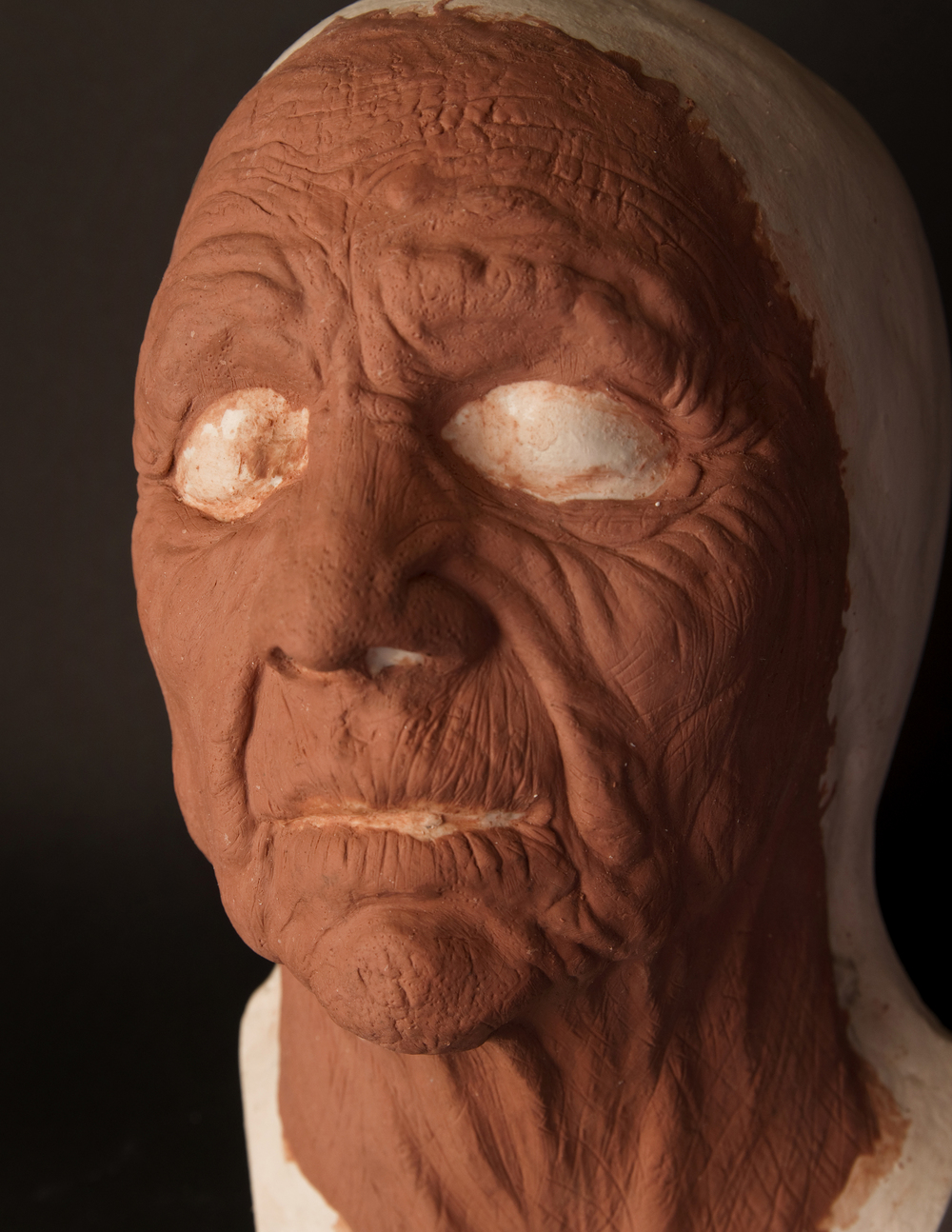Old Age Multipiece Prosthetic Sculpt