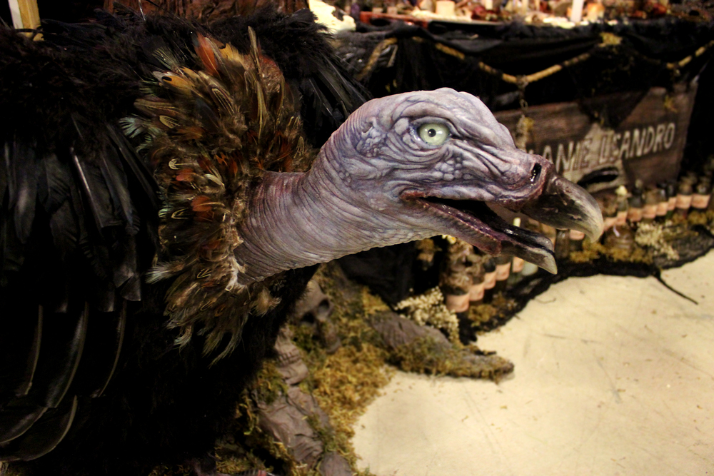 Vulture Animatronic