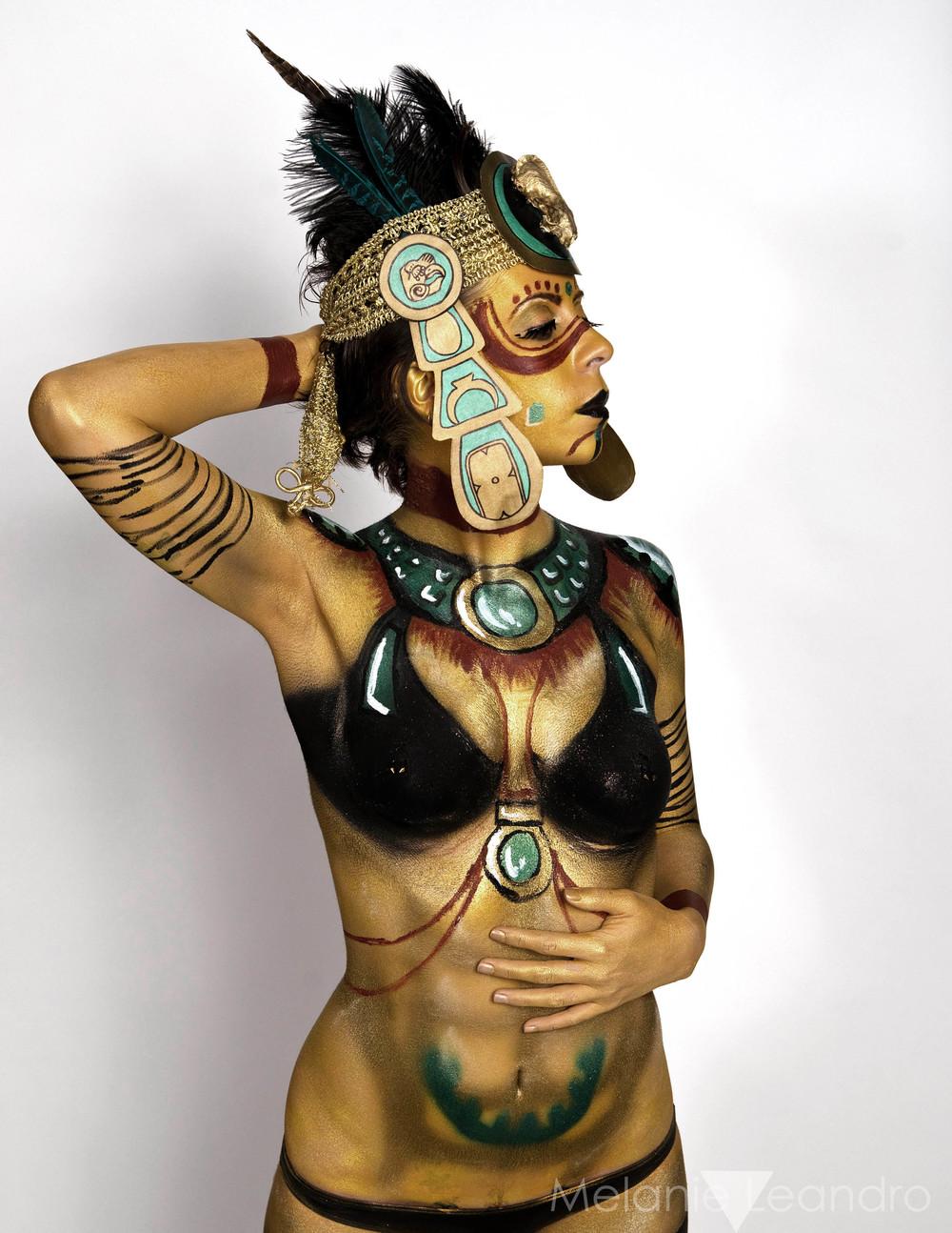 Aztec Body Paint