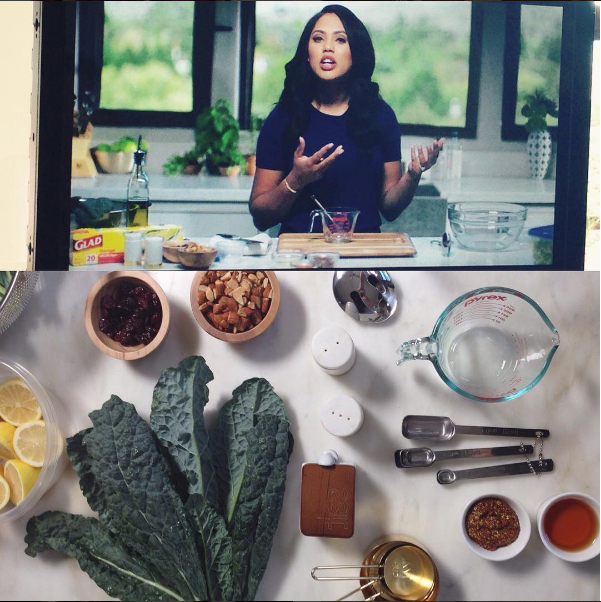 Ayesha Curry Cooking Show