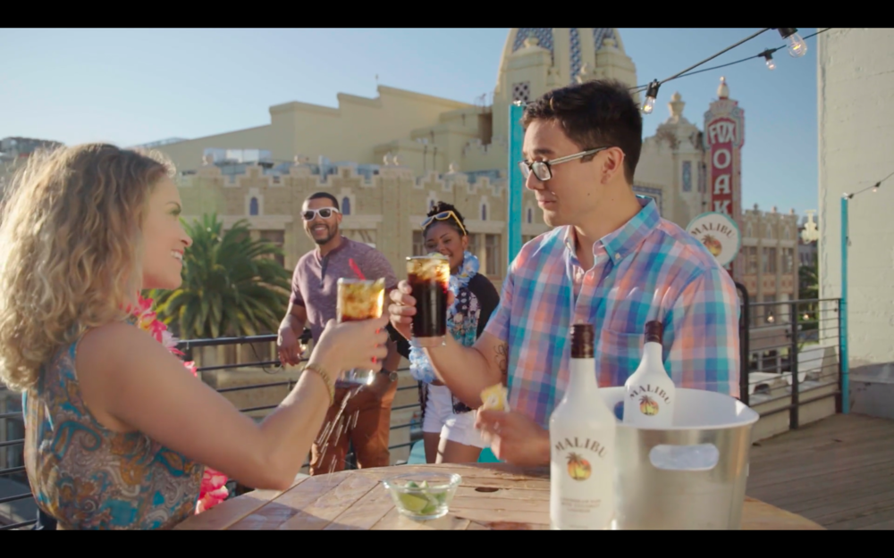 Malibu Rum: #BecauseSummer