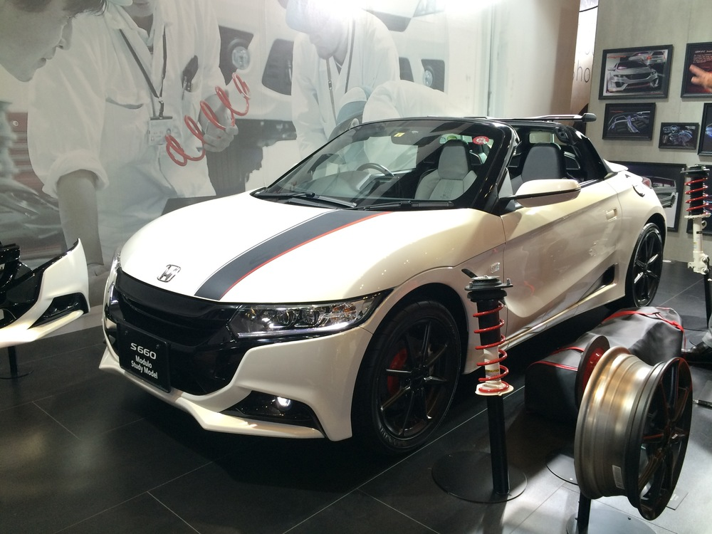 The Modulo Honda s660 ladies and gentlemen.