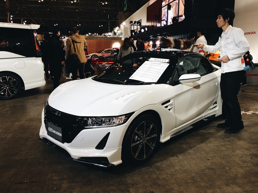 Ugh!! The new Honda s660 Mugen!