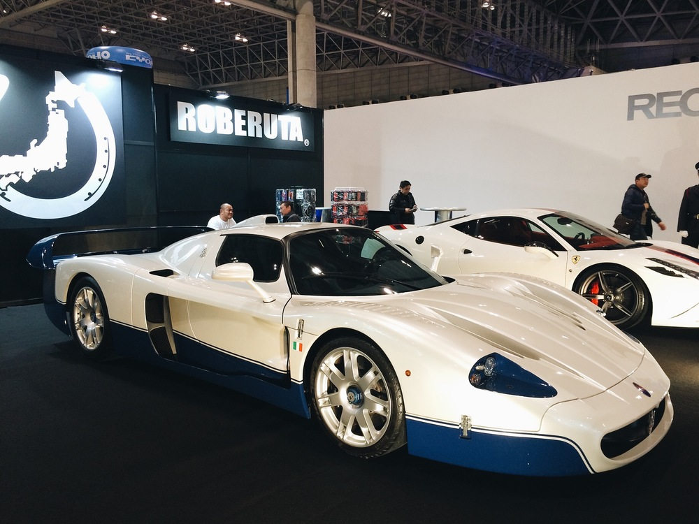 Finally seen this up close, The Maserati MC-12.