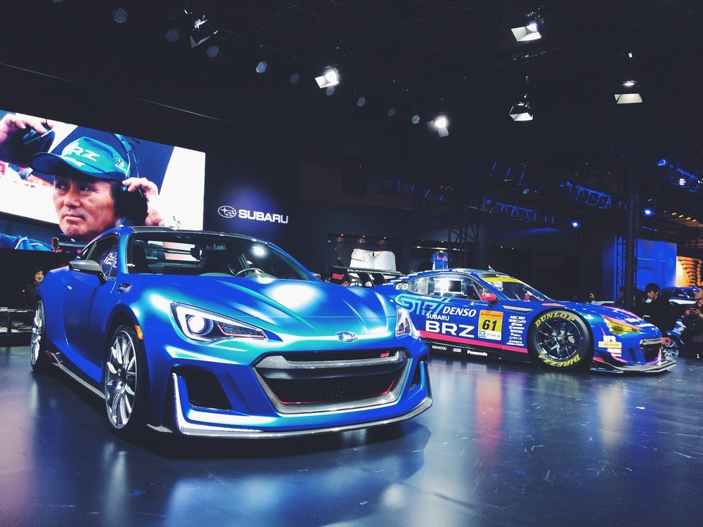 Subaru BRZ STI.