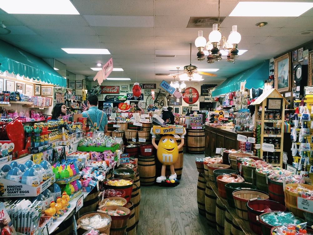 Candy store in Laguna Beach.