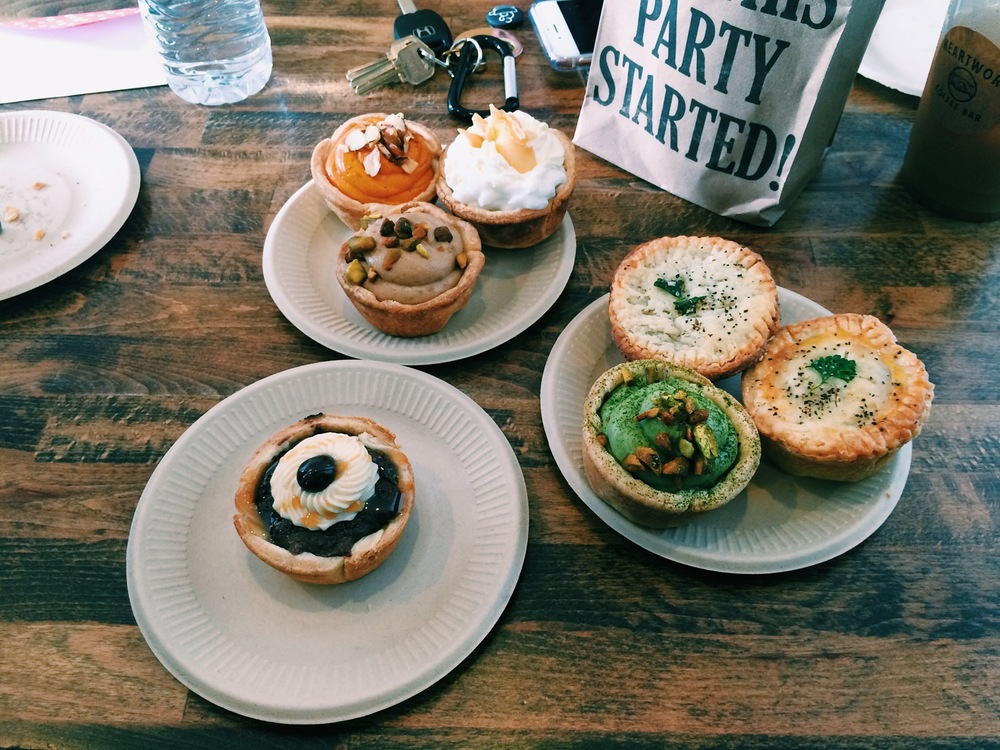 I don't eat pies or desserts but I'm glad to have met Pop Pie Co. Their pies are so fucking delicious. The Matcha pie, Thai Tea, and Chicken Pot Pie was my favorite! Well balanced in flavors and crust was perfect. They do not have a store front right now, but soon!
