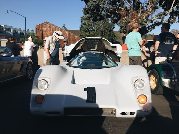 McLaren, documents stated that this raced in the Le Mans.