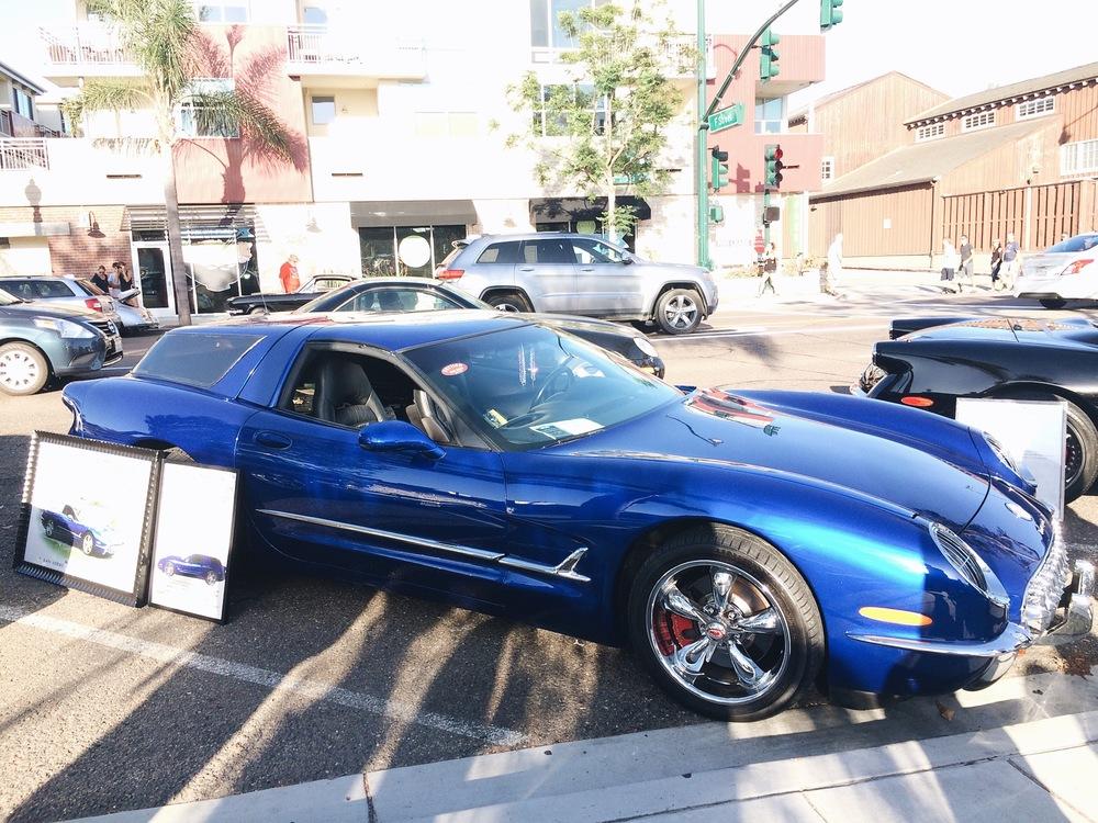 Weird customized Corvette.