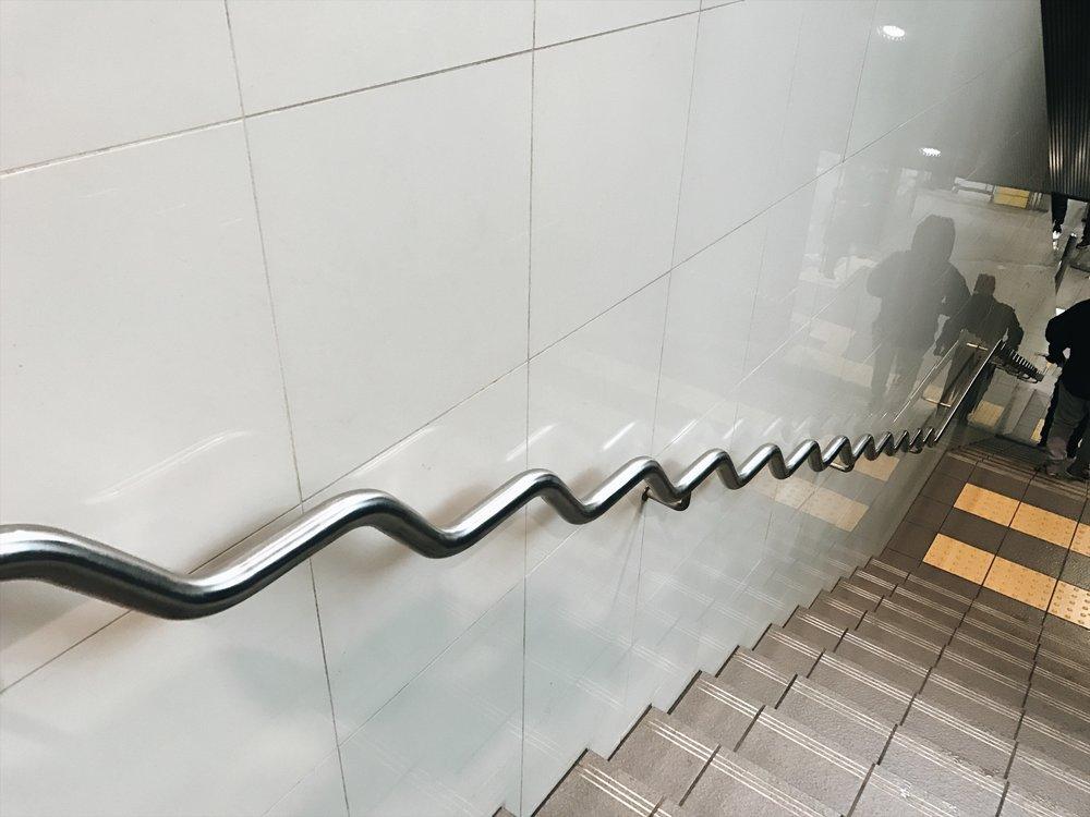I dare someone to skate this rail haha.