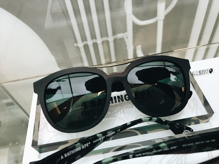 I wanted these Bape glasses but I decided to save my money for tires.