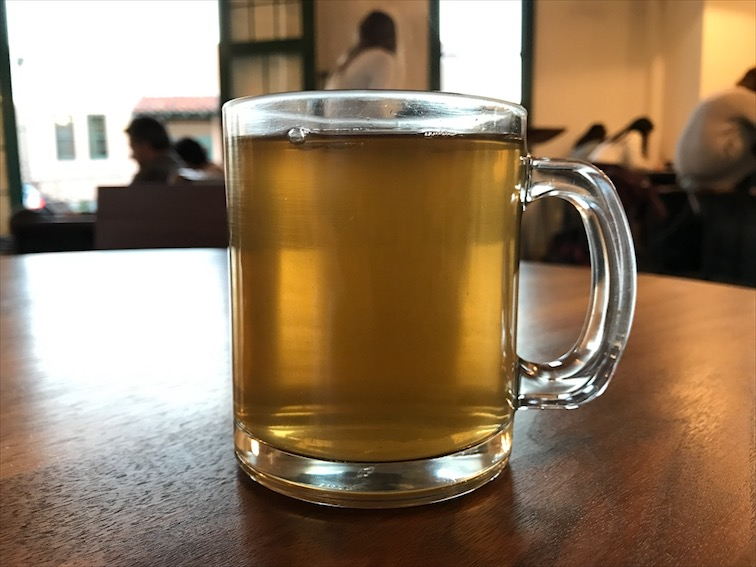 We had tea instead coffee this time. Green Tea with Lavender Brown Sugar, do this and you won't be disappointed. If today would have a flavor, it would be this tea.