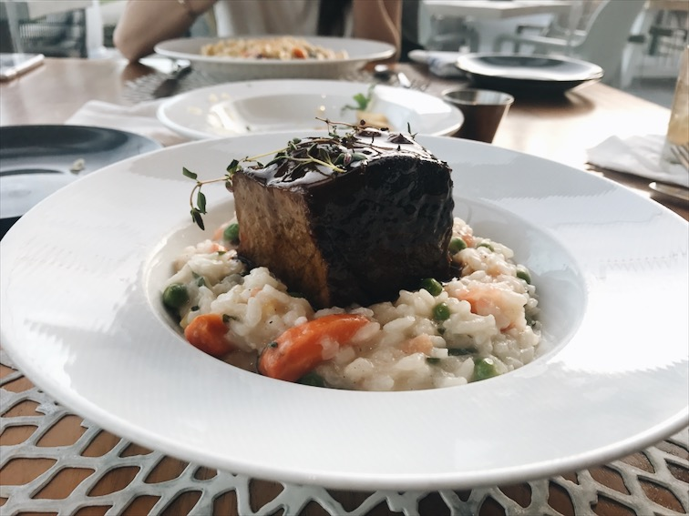 The Short Rib Risotto. It was decent, for $30 I don't want decent though. But of course this is all preference, maybe this is not my cup of tea. And yes I've had Risotto before and I loved it.