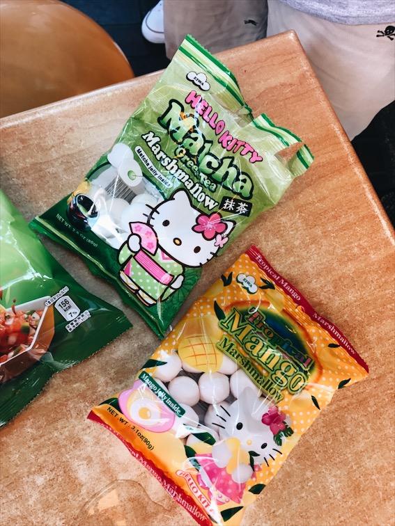 More snacks in Little Tokyo.