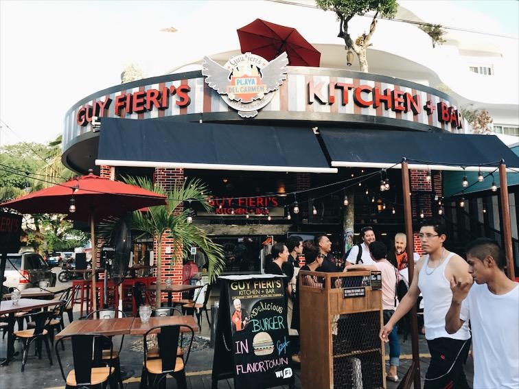 Oh look! Guy Fieri got a restaurant here!