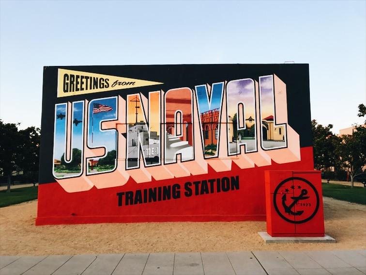 Cool mural .