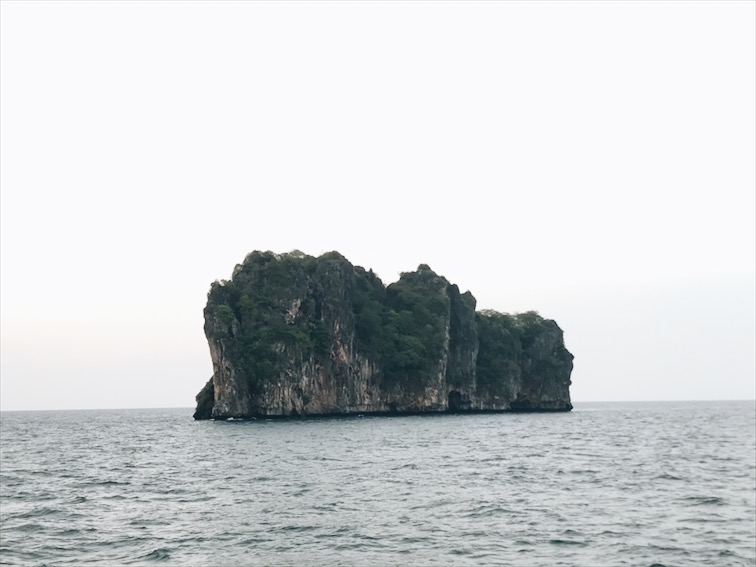 Oh look! One of the island a part of the tour lol.