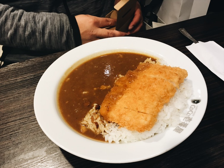 After walked around Osaka for a while we had finally had dinner at Coco Ichabanya. We now have this restaurant in California ya'll, very great curry. It was cool to have my first experience from Japan.