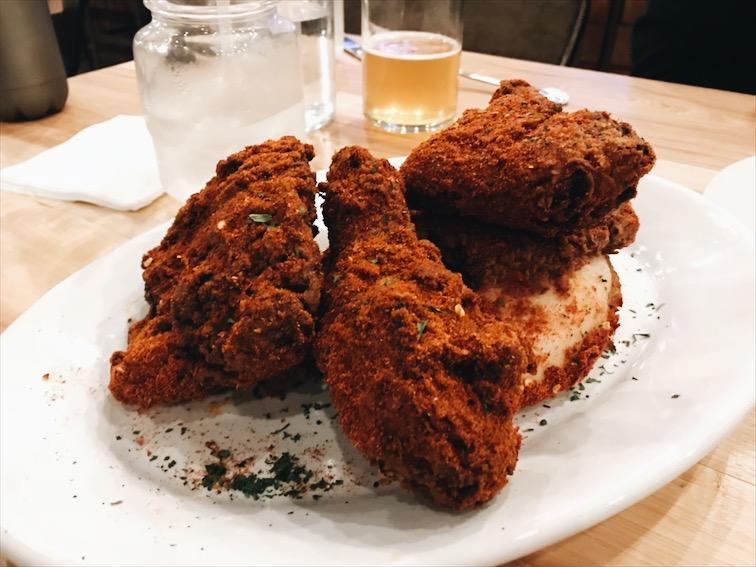 Spicy Fried Chicken!!