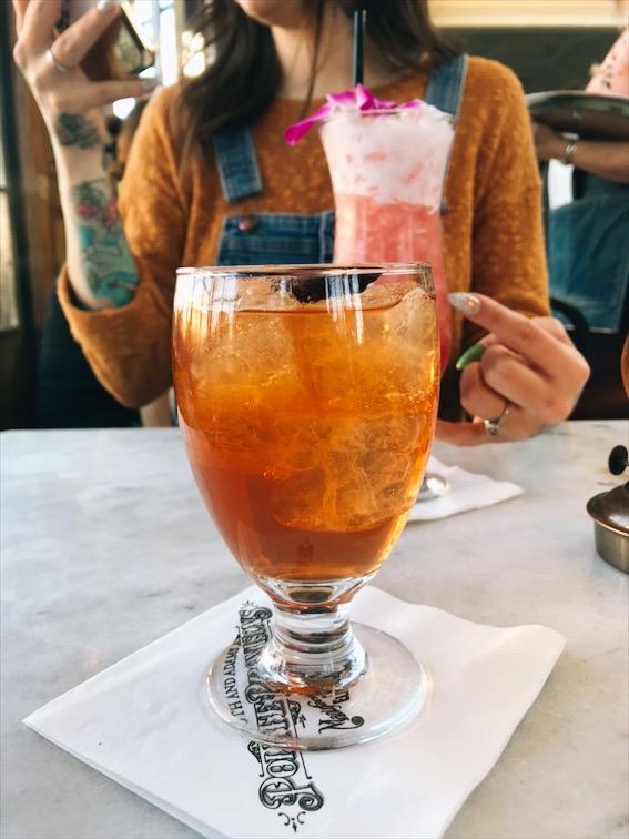 My favorite drink, Mr. Brownstone.