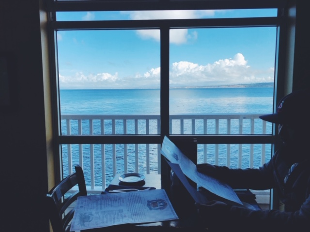 That view.