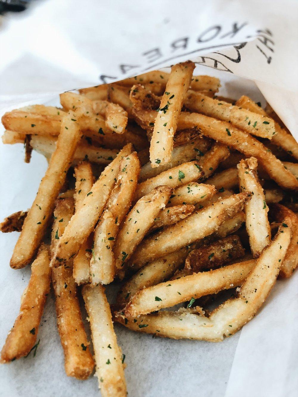 Truffle fries! So damn good!