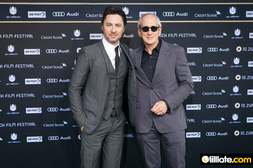 Zach Braff and Michael Shamberg