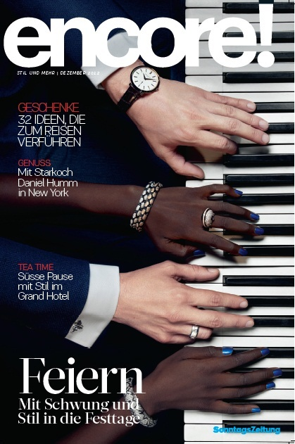 Cover Encore Magazine