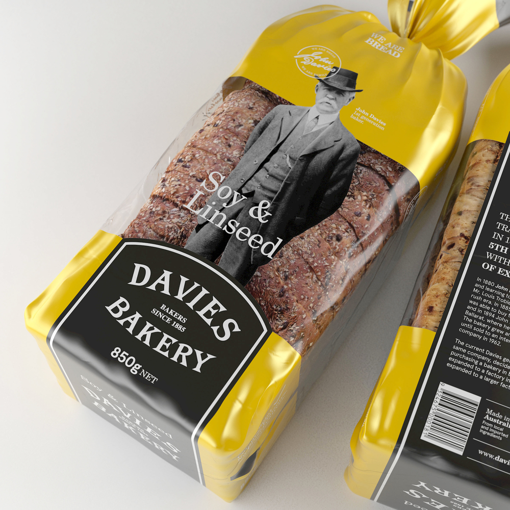 Davies Bakery  Packaging