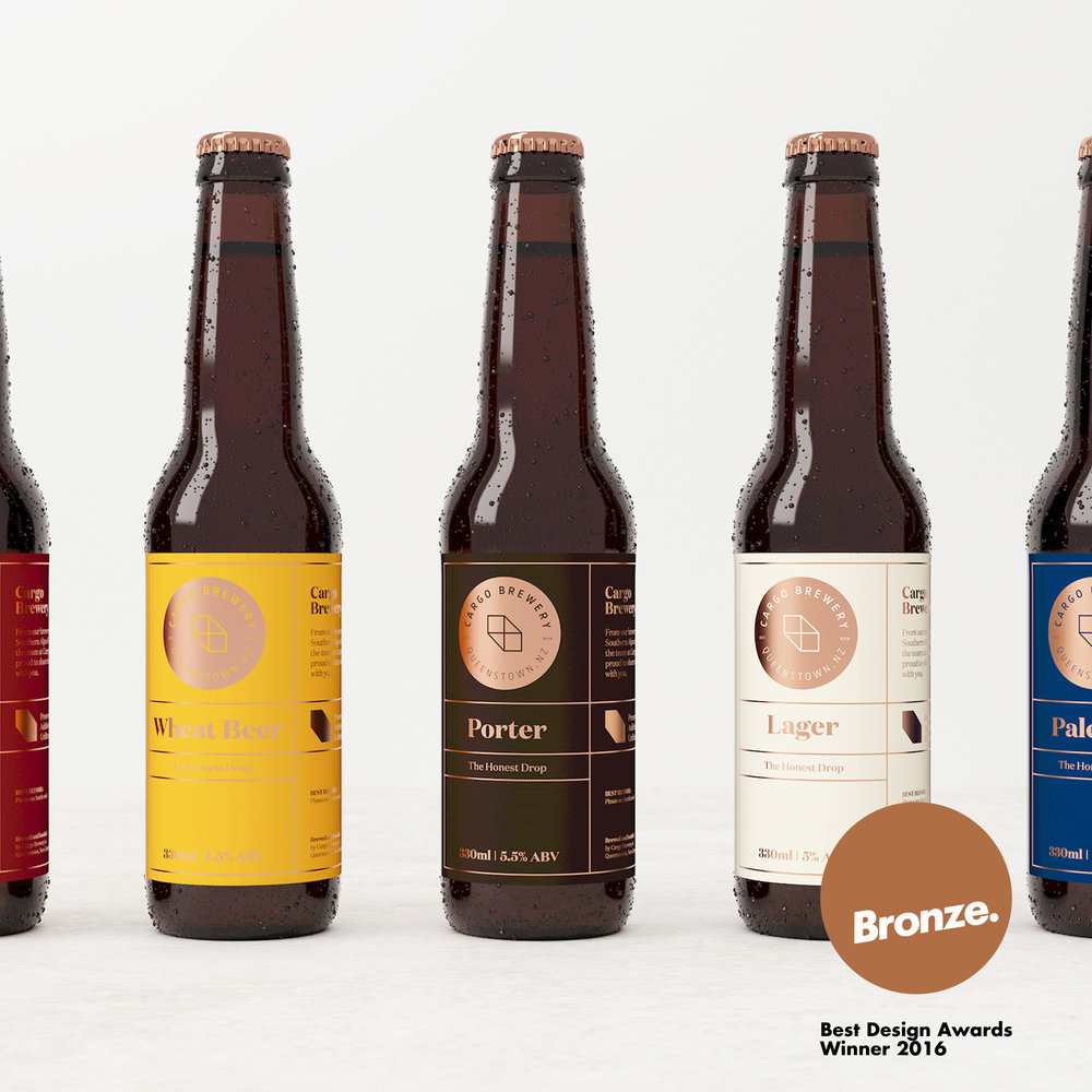 Cargo Brewery  Branding—Packaging