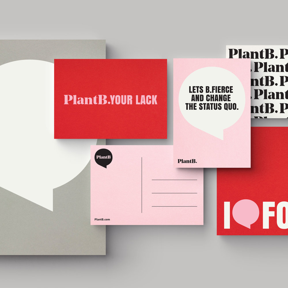 PlantB  Branding—Illustration—Space Design
