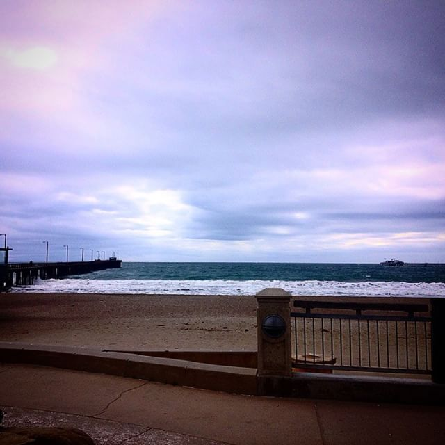 There is a storm brewing and it's beautiful. #pierfront