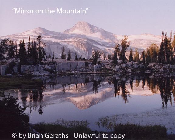 Mirror on the Mountain