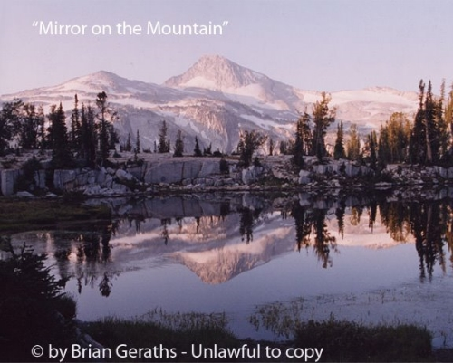 Mirror On the Mountain