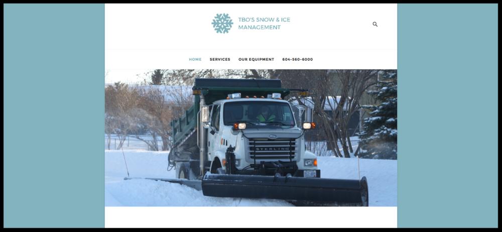 TBO's Snow & Ice Management