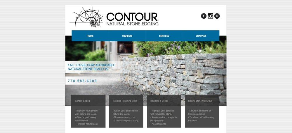 Former Contour Stone website