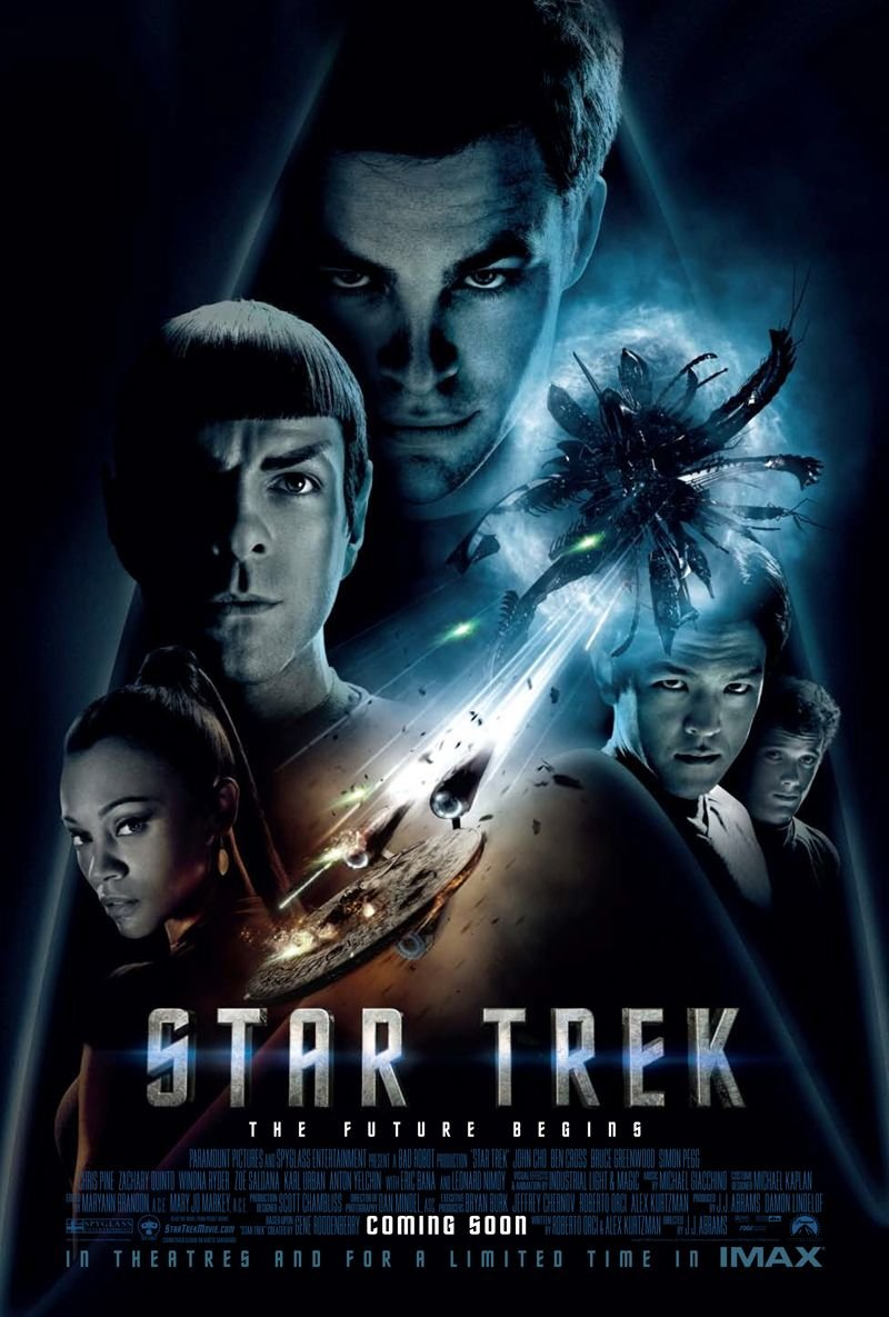 Star Trek The Future Begins poster