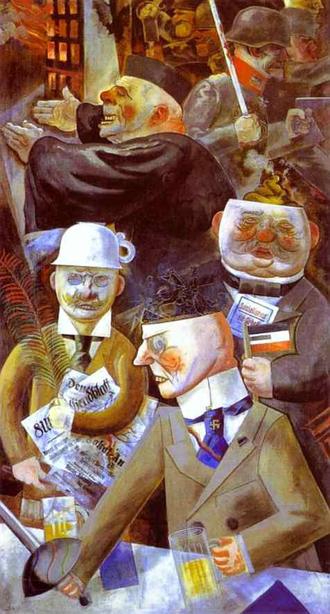 'The Pillars of Soceity' (1926) by George Grosz