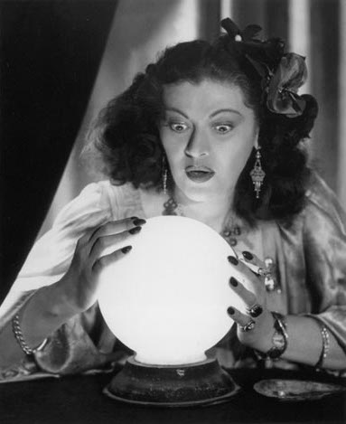 fortune teller crystal ball