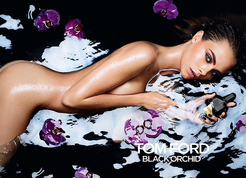 Cara Delevingne Tom Ford Black Orchid